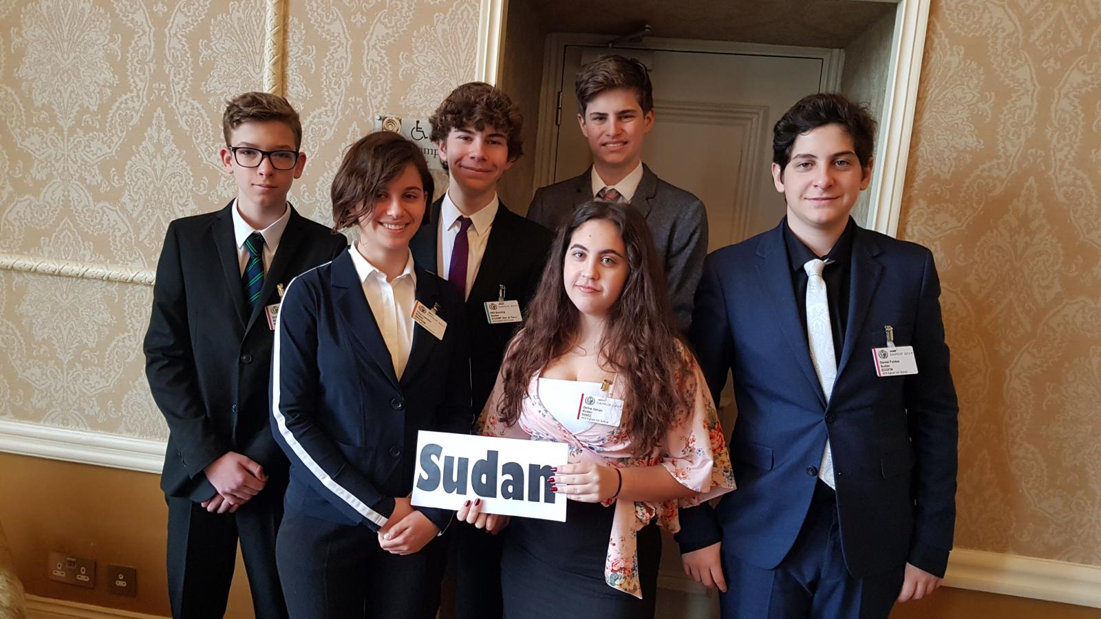 ACS Students shine at Model United Nations
