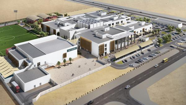 New campus opening 2020 ACS Doha artist impression