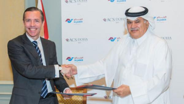 r Tim Cagney, Chief Executive of ACS International Schools, and Mr Mohammed Sultan Al Jaber, Chairman of Al Jaber Group