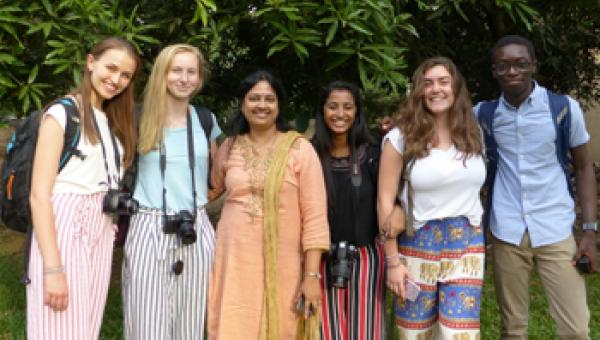 ACS International School students on Orbis sight saving trip