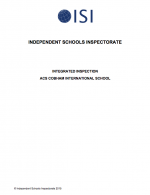 Independent Schools Inspectorate 2015 Cover
