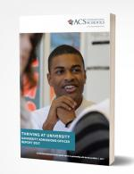 University Admissions Officers Report Cover