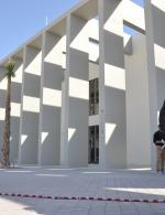 Looking at the new ACS Doha campus exterior