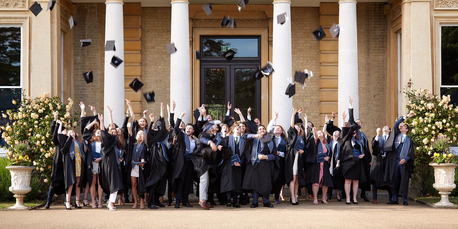 Hillingdon Graduation Hat Toss 2019