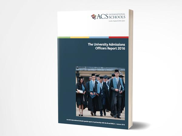 University Admissions Officers Report 2016 cover