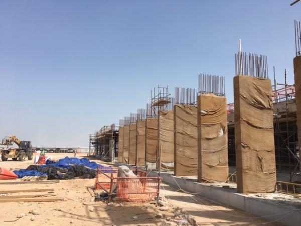 ACS Doha New Campus Progress