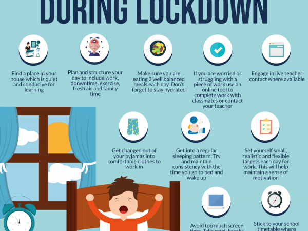 How Students Can Get Ready For Their School Day During Lockdown