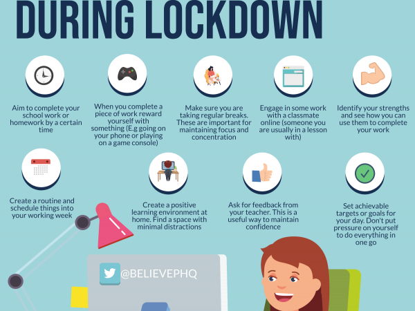 How Students Can Maintain Motivation To Work At Home During Lockdown