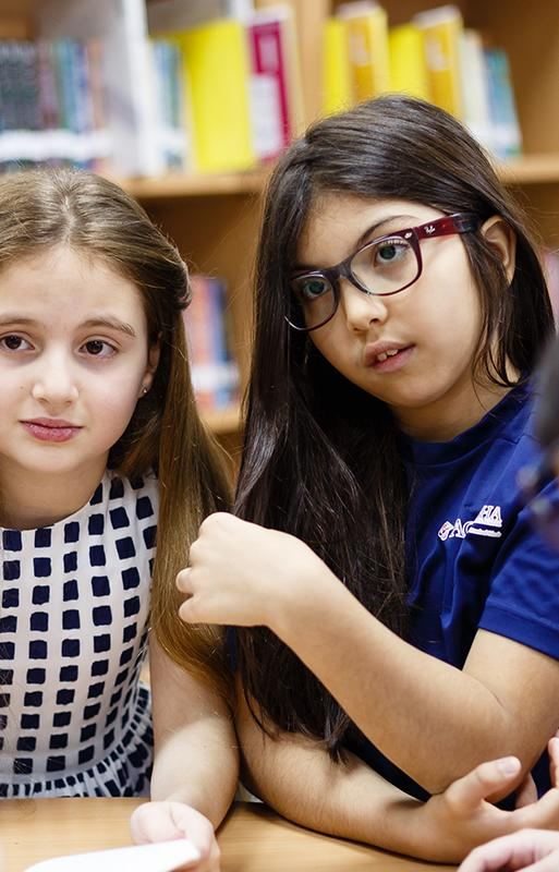 Lower School students at ACS Doha