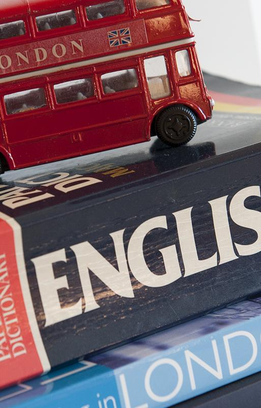 London bus souvenir on Collins dictionary